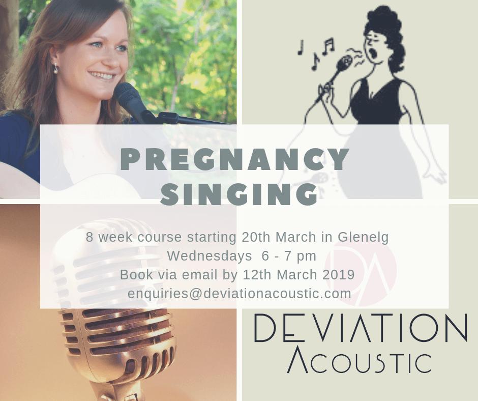 Blog | Deivaiton Acoustic | Pregnancy Singing Class Adelaide