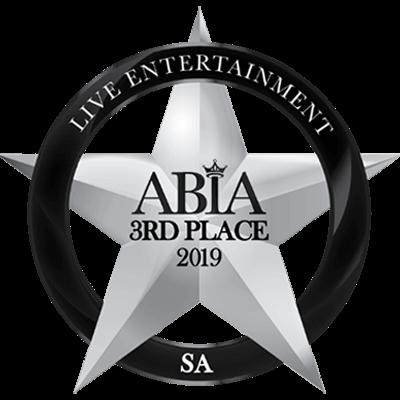 ABIA 3rd Place Badge | Deviation Acoustic | Live Wedding Entertainment Award